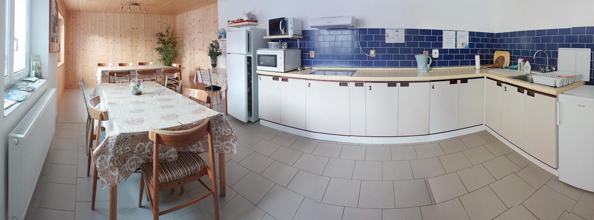 Penzion Jája - ubytování Lipno | Společná kuchyně